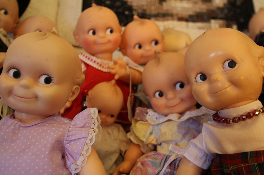 A few of Ann's Kewpie Dolls...