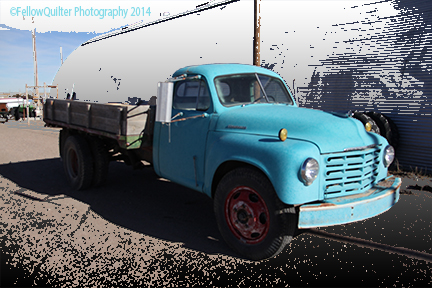 old truck in akron